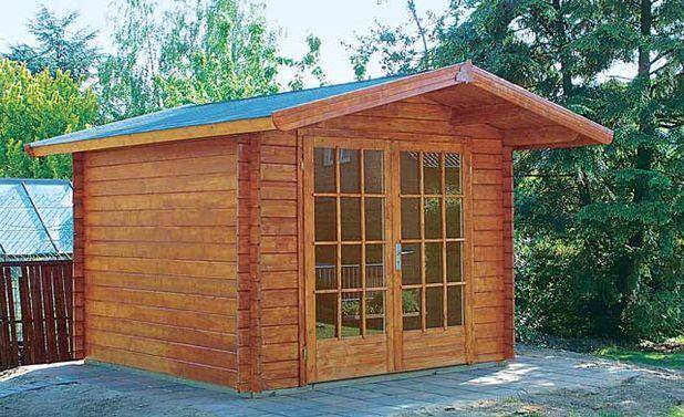 Favorit Gartenhaus Fachwerk | Dachgaube WP21