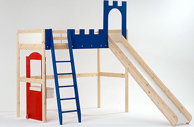 Hochbett Mit Rutsche Selber Bauen Wohnzimmer Grundriss Ideen