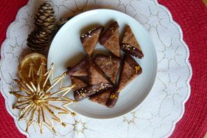 Kekse ohne Mehl, Rezept Schokolade-Nuss Kekse