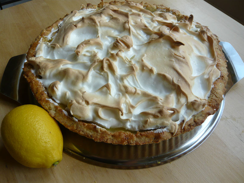 Lemon Meringue Tarte oder ...