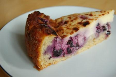 Rezept Heidelbeer-Topfen-Kuchen