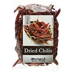 getrockene chilis chilioel