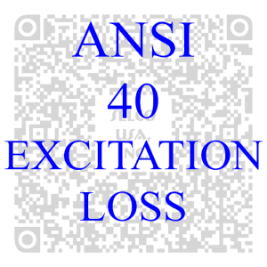 Excitation Loss Protection