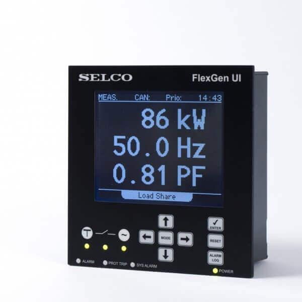 C6500 FlexGen Generator Controller Display (User Interface)