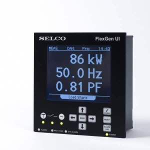C6500 FlexGen Generator Controller Display (User Interface)