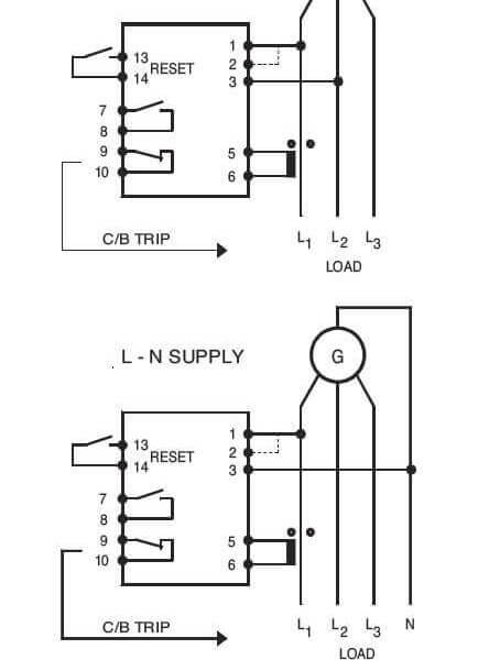 Reverse Power Relay Wiring Diagram : 34 Wiring Diagram