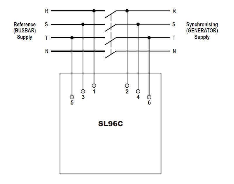 sl96c synchroscope  synchronizing light selco usa
