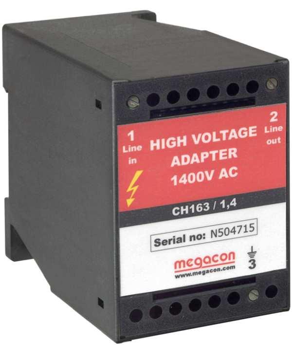 CH163-1.4kV - Medium Voltage up to 1.4kV AC Adapter