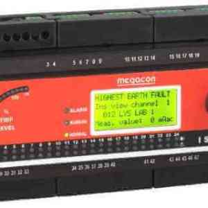 ISOPAK124 AC Ground Fault Monitor, Output Relay, Analog Output (24 Channels)