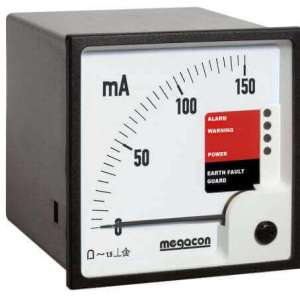 KPM162 AC Ground Fault Monitor, Output Relay, optional Analog Output (1 Channel)