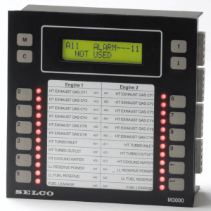 M3000 Analog Alarm Monitor, 24VDC, 24 Channel, RS485-Modbus