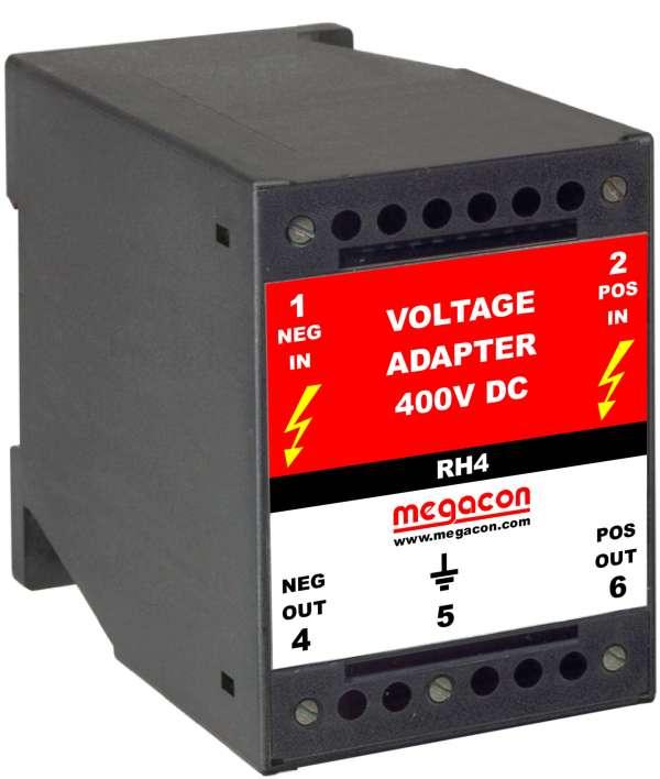 RH4 - Voltage Adapter 200VDC to 400VDC