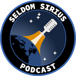 The Seldom Sirius mission patch, created by Stuart Lowe.