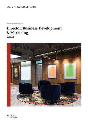 Seldon Rosser - Minter Ellison Rudd Watts - Director, BD and Marketing