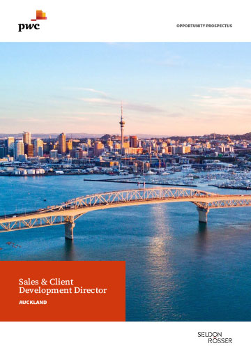 Seldon Rosser - PwC Sales and Client Development Director