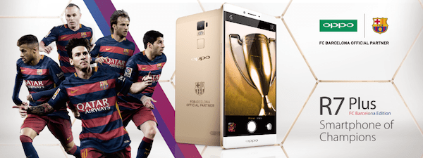 """The """"Smartphone of Champions"""" unites the star power of FC Barcelona with the artful technology of OPPO"""