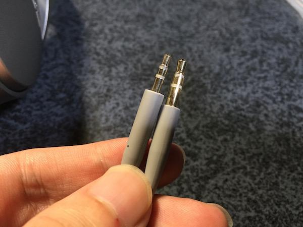 QuietComfort35の有線接続用ケーブル