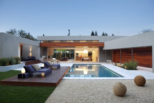 Piscine Moderne  Outdoor Living  Architecture