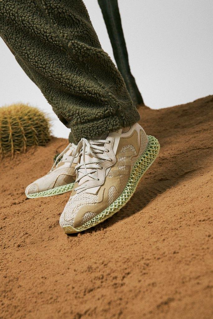 END. x Adidas Evo 4D « Dune »