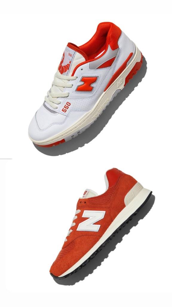 SIZE? x New Balance 574 & 550