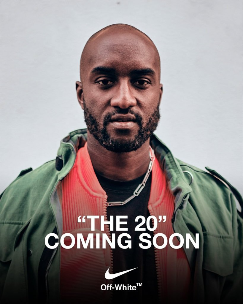 Collection Off-White x Nike « The 20 » + livre « ICONS »