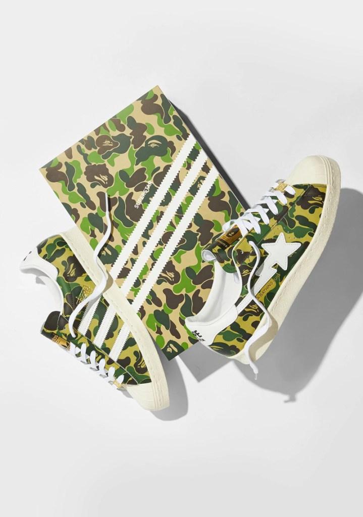 BAPE x adidas Superstar « ABC Camo Green »
