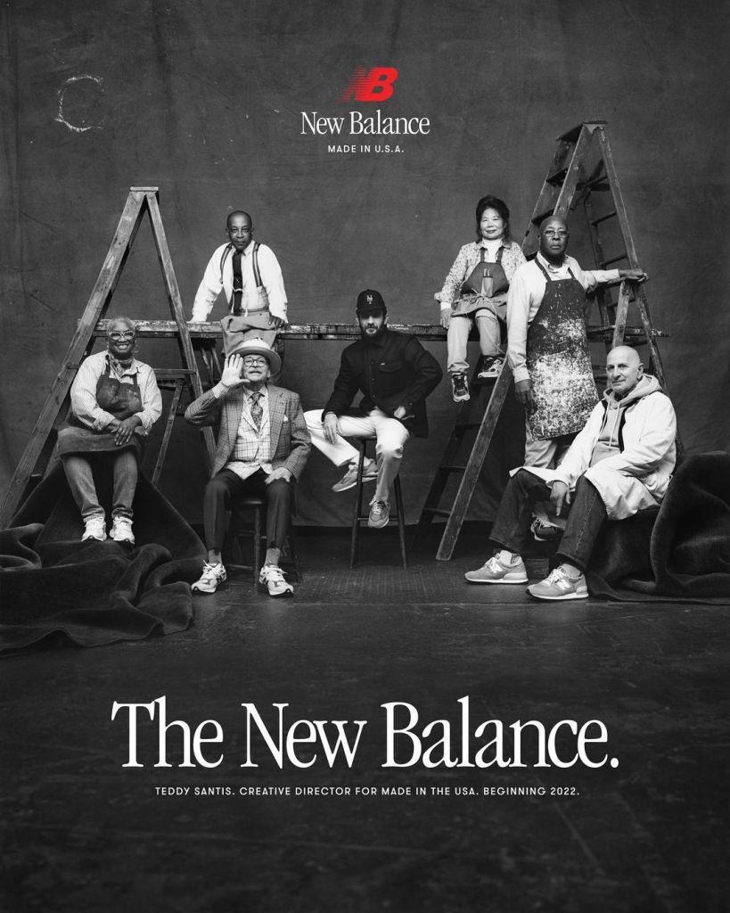 Teddy Santis, Directeur Créatif de New Balance Made in USA