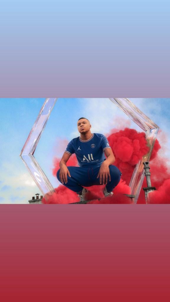 PSG Maillot domicile 2021-22 signé Jordan Brand