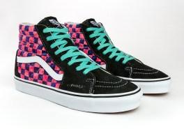 awake-ny-vans-sk8-hi-checkerboard-black-pink-2