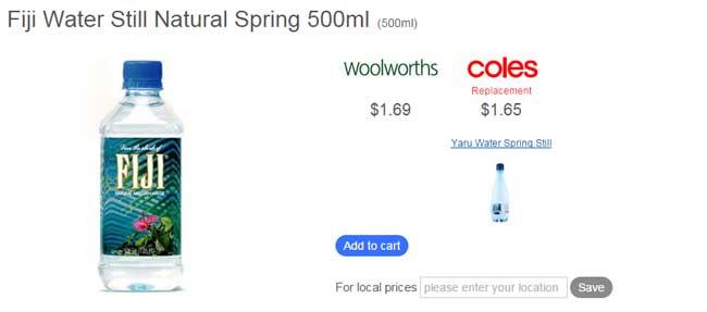 フィジーウォーター オーストラリア価格