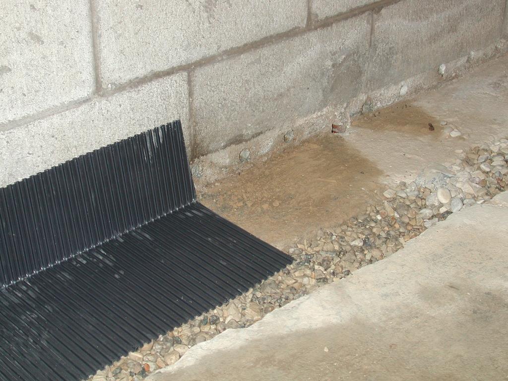 Drain Tiles  Select Basement Waterproofing