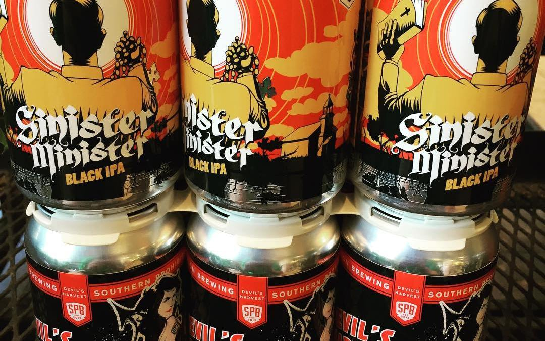 @soprobrewco Devil's Harvest canned 9/26 and their black IPA, Sinister Minister now in stock at…