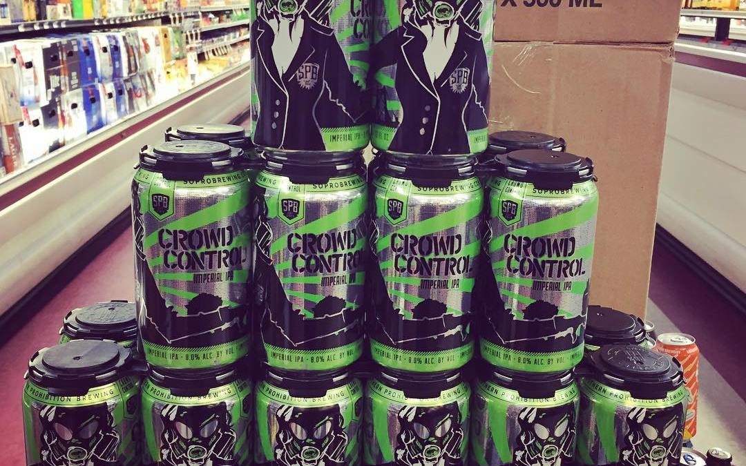 Fresh @soprobrewco Crowd Control is now back in stock at our Perkins Rd location! #freshhops…