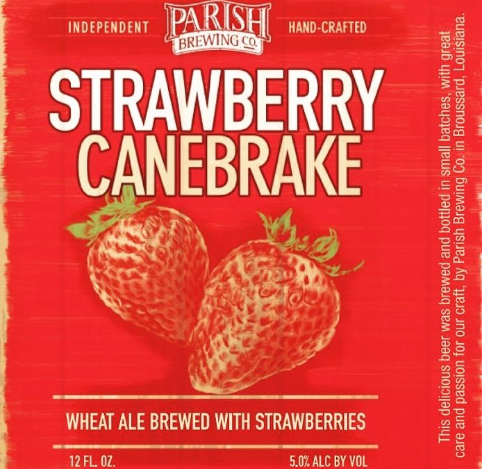 Today is the day! We will be releasing @parishbrewingco Strawberry Canebrake at our Perkins Rd…