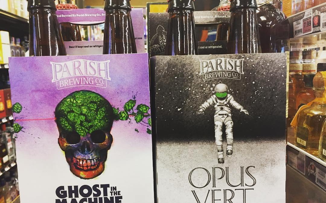 Surprise! We got a little shipment of the last batches of @parishbrewingco Opus Vert and…
