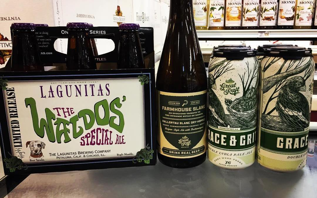@lagunitasbeer Limited Release Waldo's Special Ale is now in stock at our Perkins Rd location!…