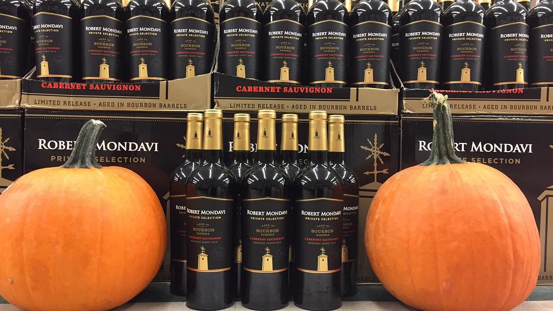 #BourbonBarrelAged Cabernet Sauvignon from @robertmondavi available at our Mid City location. #Wine #PrivateSelection