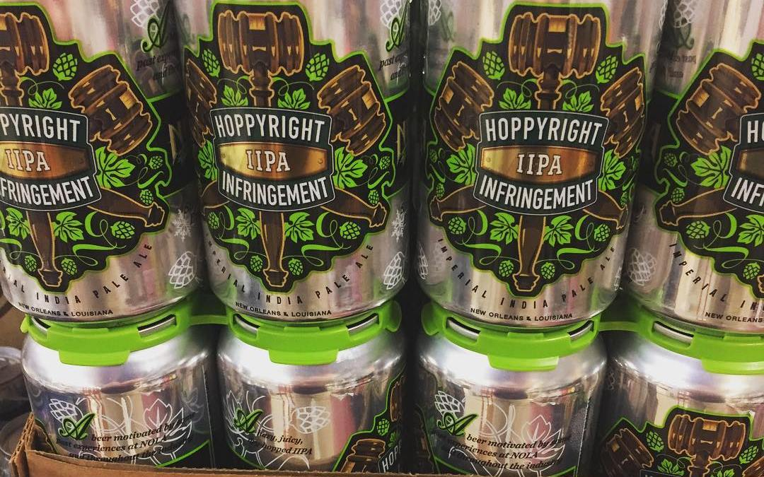 @nolabrewing Hoppyright Infringement Double IPA is now in stock at our Perkins Rd location! #newbrewthursday…