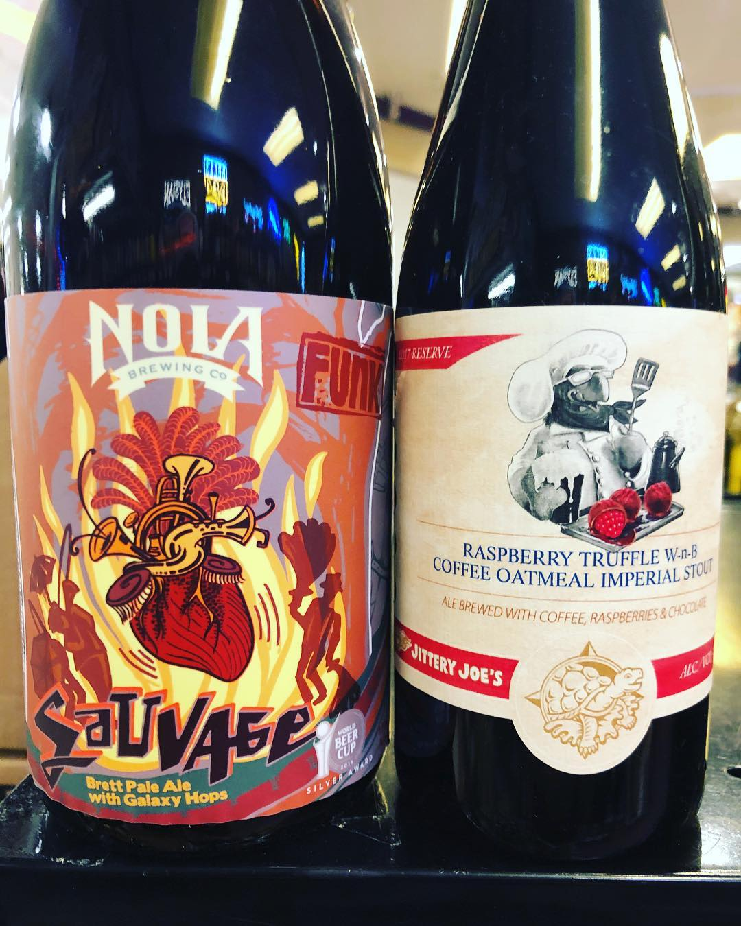 @terrapinbeerco Raspberry Truffle Wake-n-Bake and @nolabrewing Sauvage Batch 4 are now in stock at our…