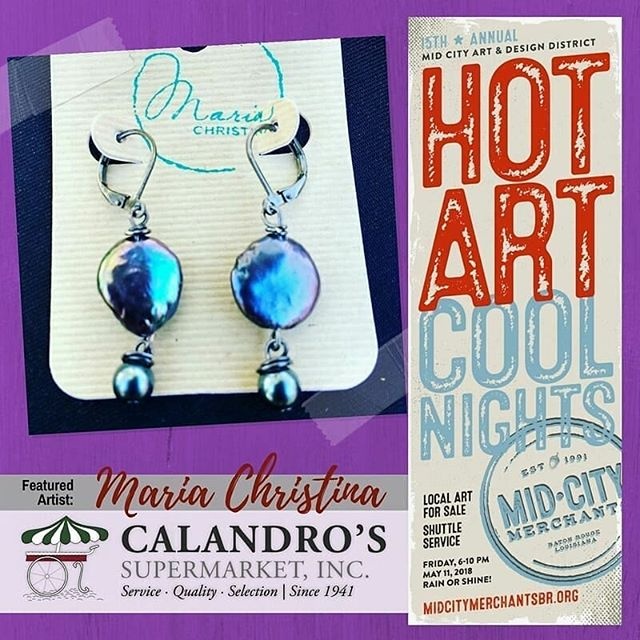 Mark your calendars folks – Fri., May 11th, 6-10p! @mariachristinajewelry and a whole host of…