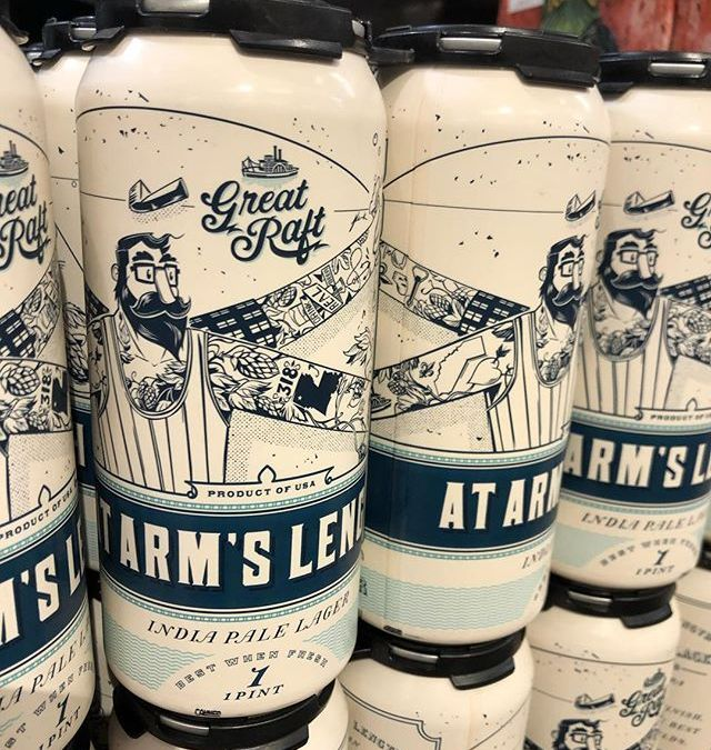 @greatraftbeer At Arms Length is now in stock at our Perkins Rd location! #beer #drinklocal…
