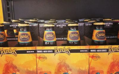 @foundersbrewing Barrel Runner is now available at our Perkins Rd location! #beer #barrelagedbeer #beattheheat #lawditshot…