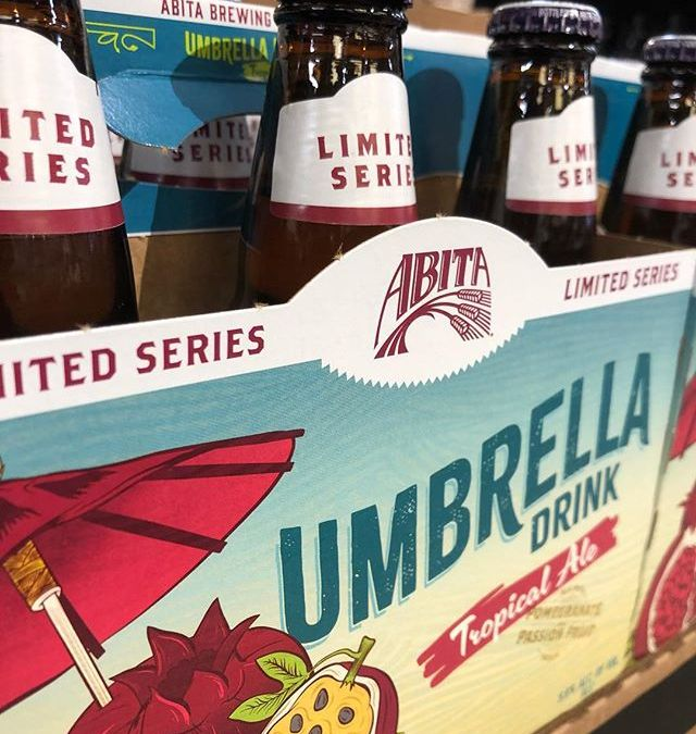 @abitabeer Umbrella Drink, Tropical Ale with Pomegranate and Passion Fruit, is now available at our…