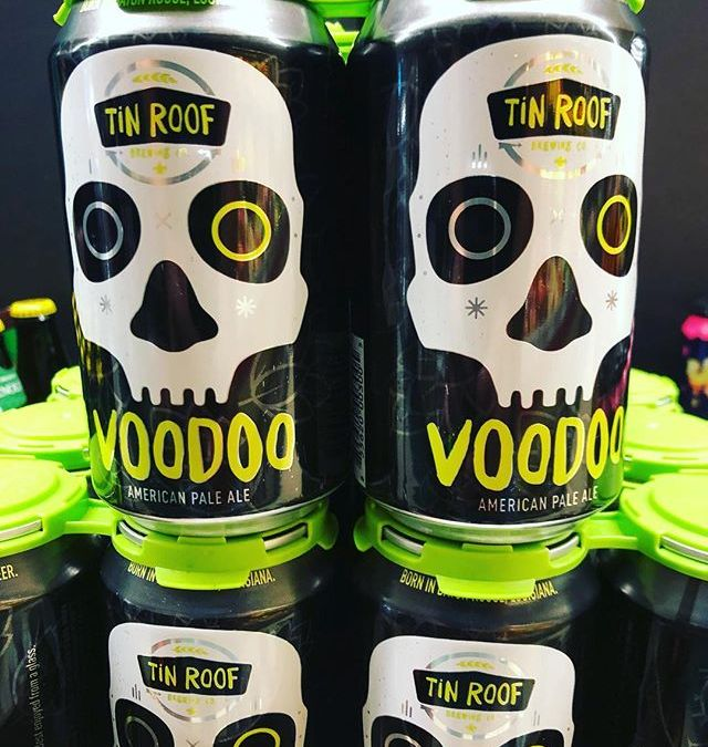 @greatamericanbeerfestival Gold Medal winner, @tinroofbeer Voodoo, is back in stock at our Government Street location!…