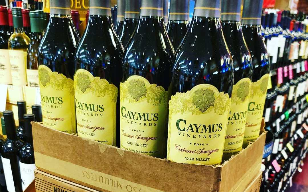 Need some last-minute @caymuscab? We have you covered! #wine #calandros #calandrosmkt #caymus #napavalley #holidays #christmas…
