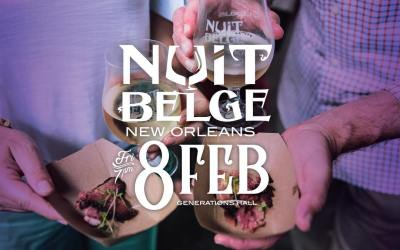 Calling all foodies and beer geeks… if you haven't been to @nuit_belge in New Orleans…