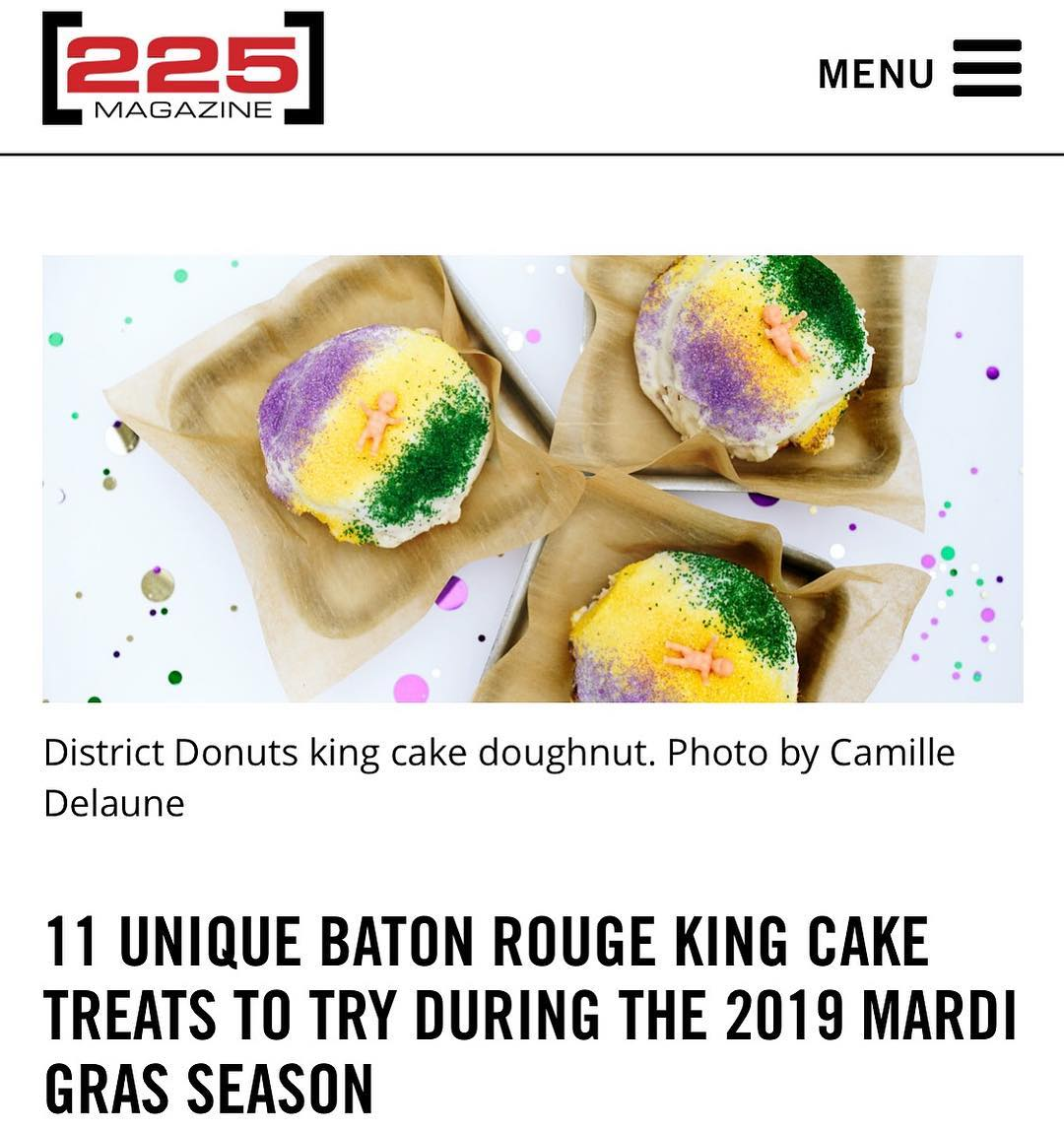 "Thanks for the 💜💛💚 @225batonrouge !!! ""W H O D A T says they gonna…"