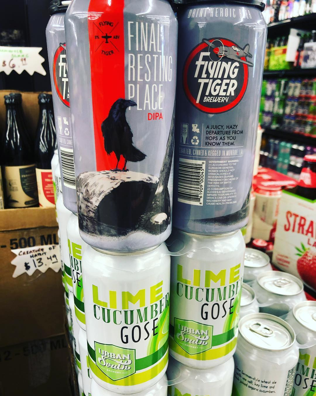 New and returning local brews now available at our #midcitybr location! @urbansouthbeer @flyingtigerbrewery.br #beer #drinklocal…