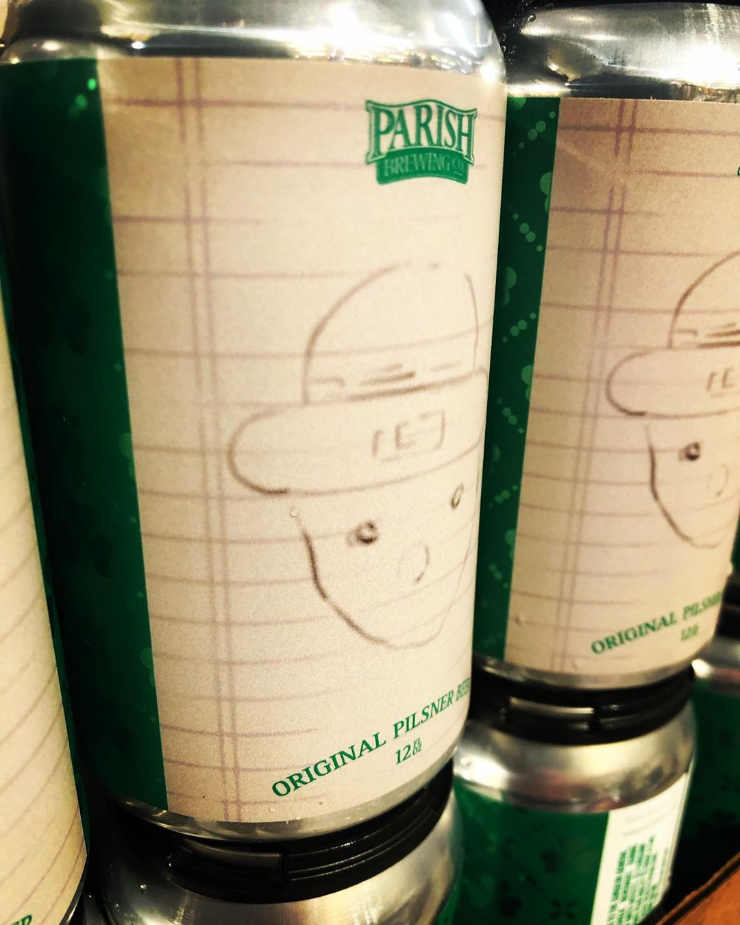 Anybody seen this leprechaun? We spotted it here at our Perkins Rd location! @parishbrewingco #noparadenocare…