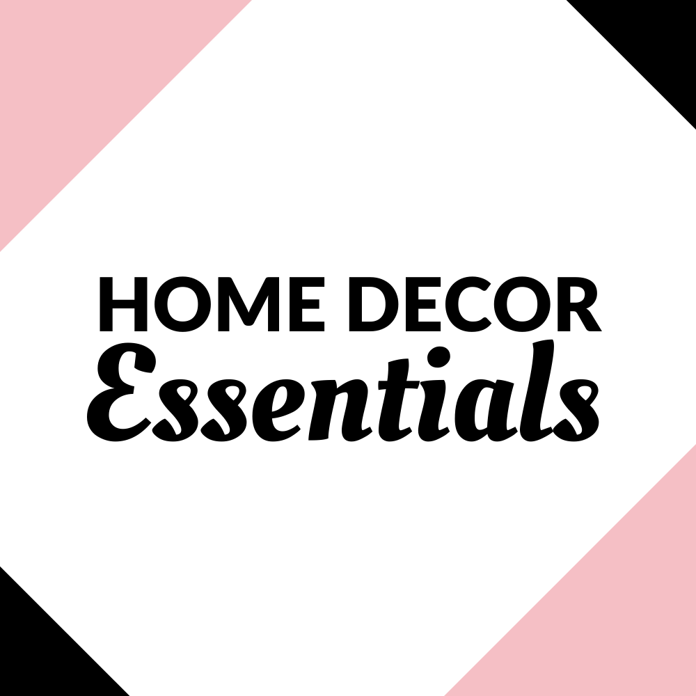Home Decor Essentials Graphic